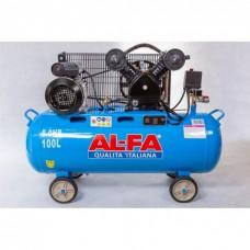 Компрессор AL-FA ALC100-2 (100 литров)