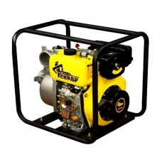 Дизельная мотопомпа для чистой воды Кентавр ЛДМ100БЭ
