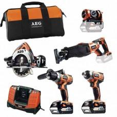Набор инструментов AEG JP185ALI402 (4935443466)
